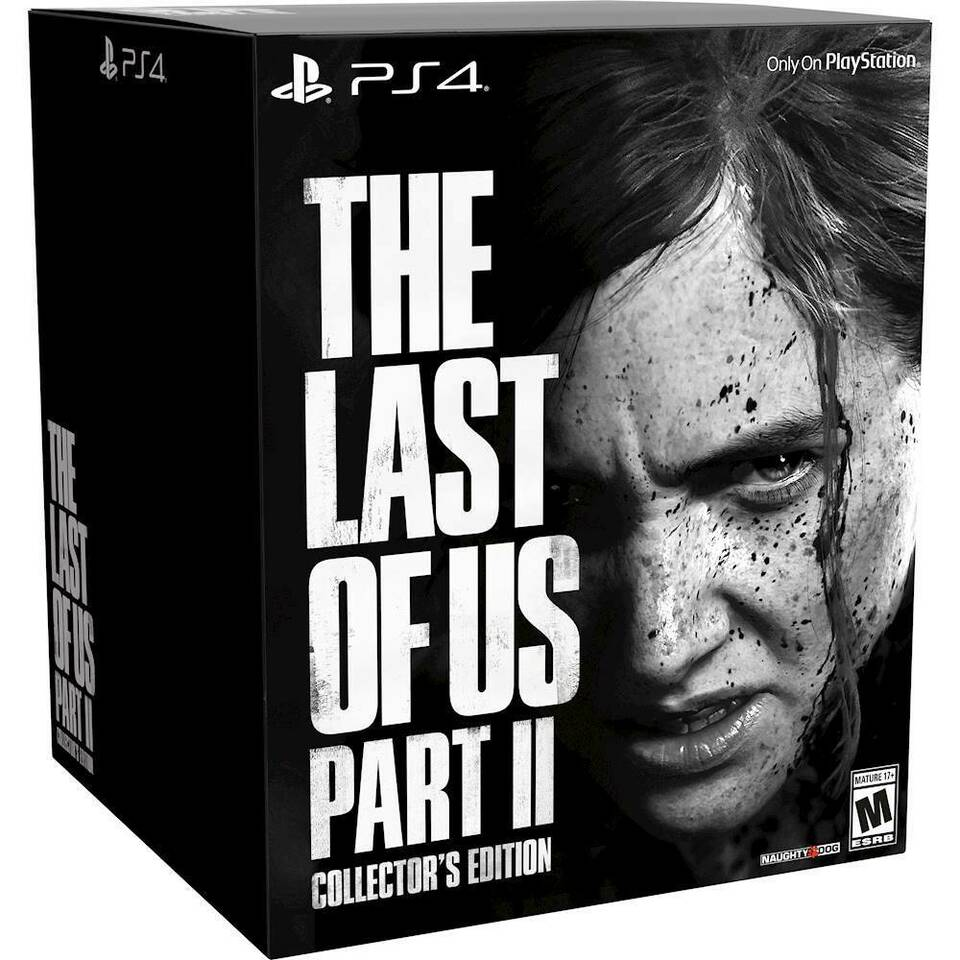 The Last of Us part 2 collector NUOVO Ps4
