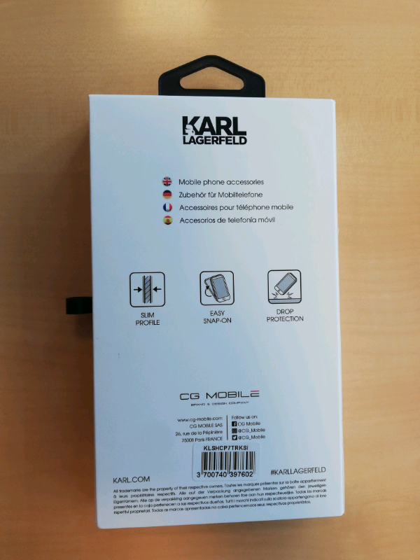 Cover iPhone 7-8 Karl Lagerfeld 4