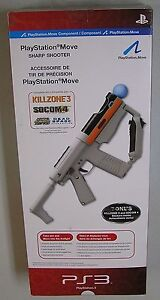 Sony Playstation Move Sharp Shooter gun rifle attachment PS3 98100 Brand New