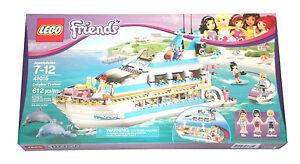 LEGO Friends DOLPHIN DOLPHIN DOLPHIN CRUISER - New  RetiROT Set 41015 - 612pc Yacht FREE US SHIP be78a6