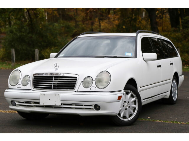 1999 mercedes benz e320 wagon 3rd row seat 4matic awd low. Black Bedroom Furniture Sets. Home Design Ideas