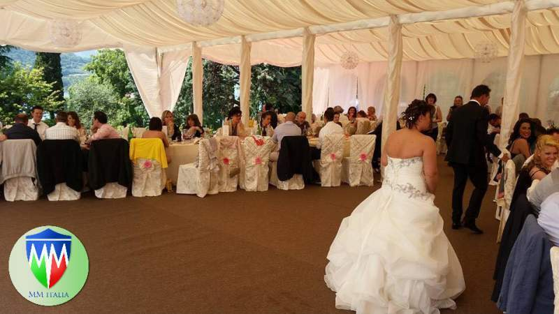 Tendoni Gazebo per Matrimoni Eventi, Catering MM Italia 4