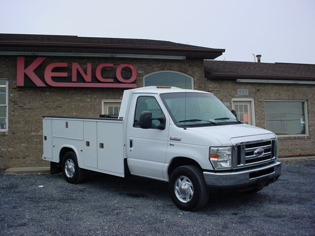 Virginia Auto Sales Tax >> 2009 Ford E350 Utility Service Van Commercial 11' Knapheide Service Body Van - Used Ford E ...