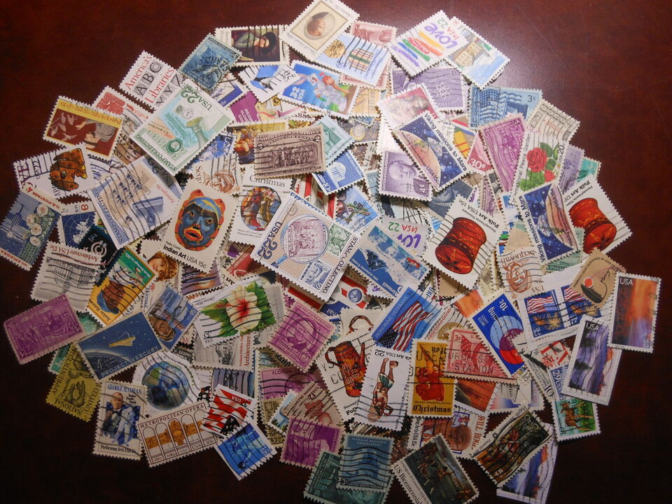 1.500 francobolli U.S.A.