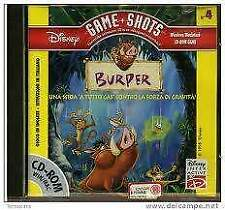 CD Rom - Game Shots - Walt Disney - Burper