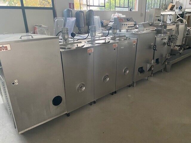 Complete industrial line for gelato industry used
