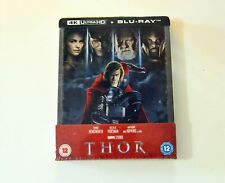 Thor blu-ray 4k + 2d steelbook limited disney nuovo