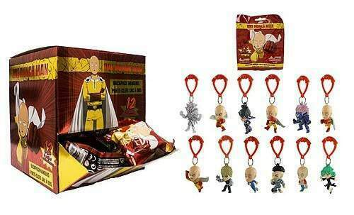 Just Toys Int One Punch Man Hanger Coll Display(24) Portachiavi