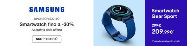 Smartwatch fino a -30%