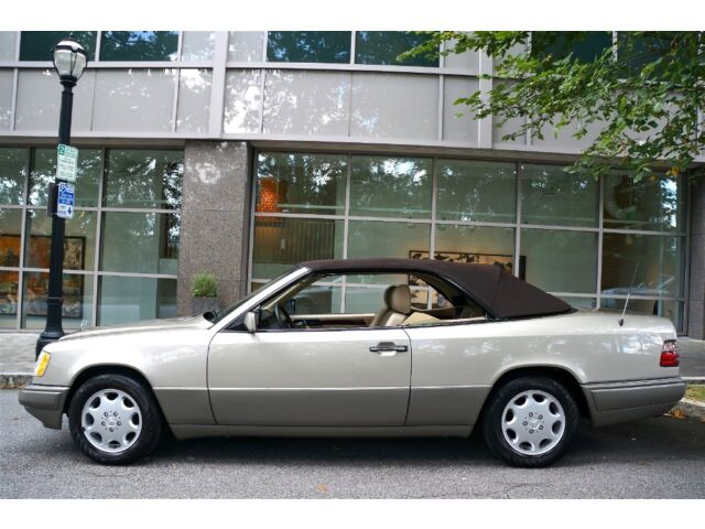 1995 mercedes benz e320 cabriolet no paintwork 2 owners for 1995 mercedes benz e320
