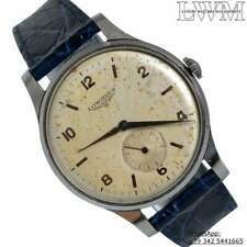 LONGINES Classic vintage 4914 silver dial 1955