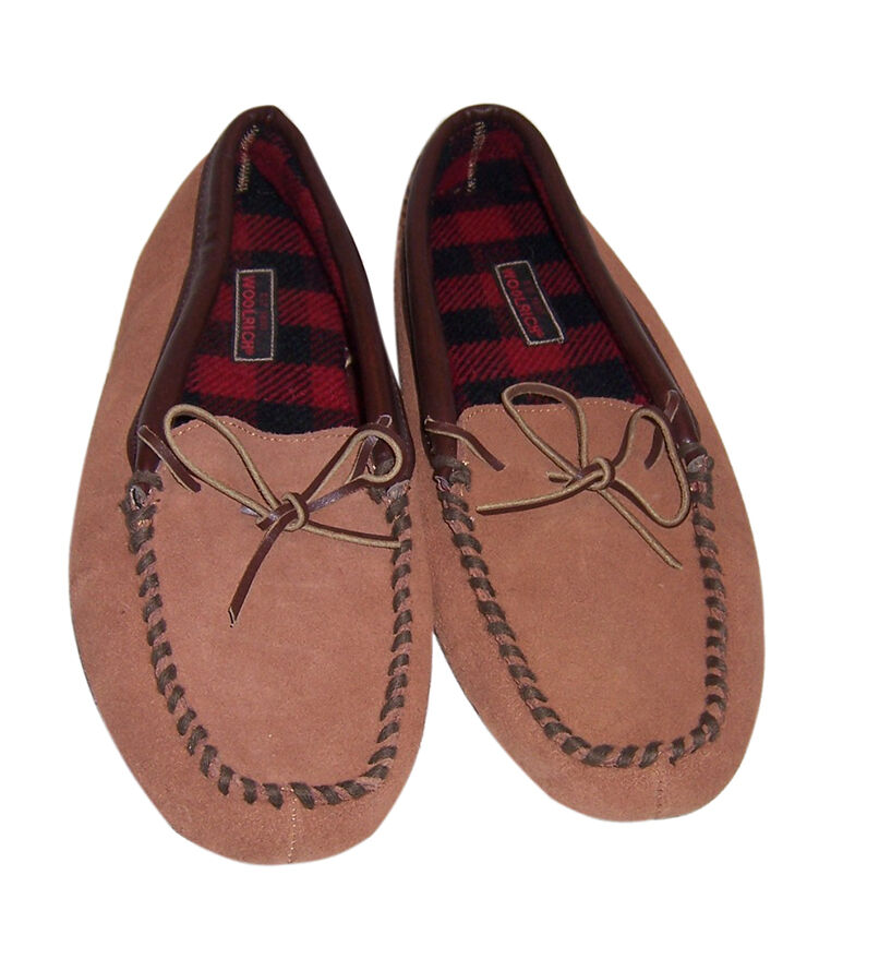 Woolrich Suede Slippers
