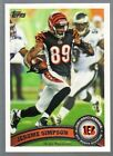 Jerome Simpson Football Trading Cards