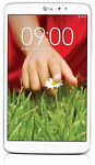 LG G Pad 16GB, Wi-Fi, 8.3in - White