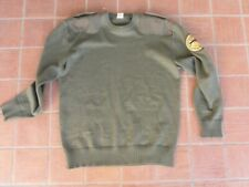 Rare glock military wool pully w/ 1st glock logo patch
