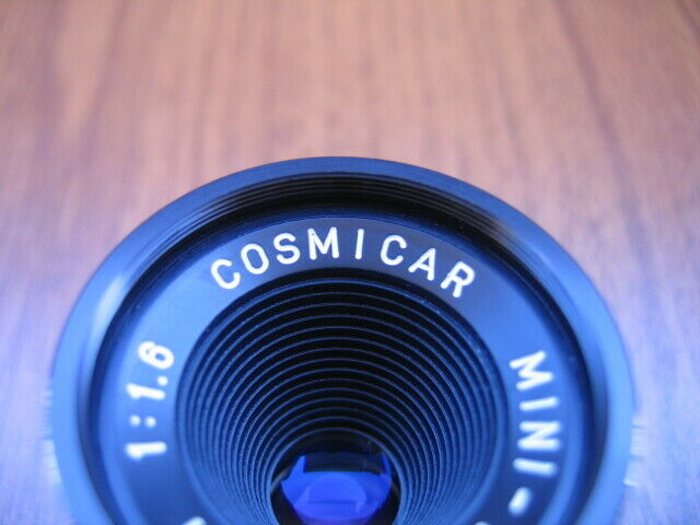 Pentax COSMICAR MINI-TV 16 mm. 1:1.6 2