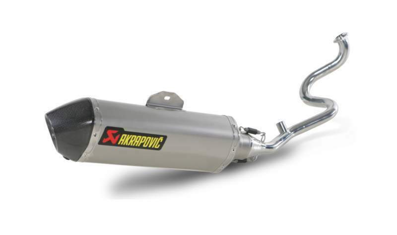 S-H125R1-HRSS akrapovic honda scooter PS 150i 2006>2012