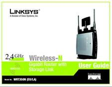 LinkSys Wireless-N Router with Storage Link WRT350N ver.2
