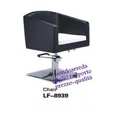 Sedia poltrona parrucchiere mod.8939
