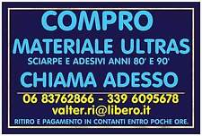 Cerco: Materiale Ultras anni 80' & 90'