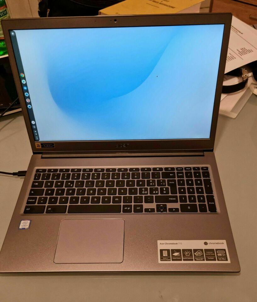 Notebook Acer Chromebook 715 pc portatile