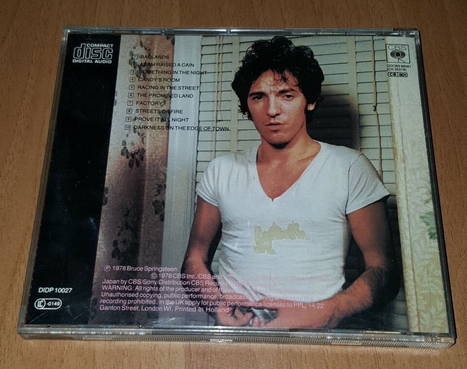 Bruce Springsteen - Darkness on the Edge of Town - CD musica 2