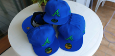 Lotto 14 cappellini New Era MLB Atlanta nuovi