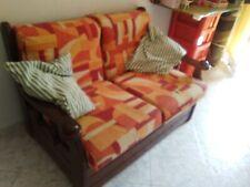 Divano letto legno massello 1 piazza e mezza