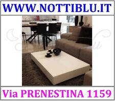Tavolino Trasformabile V69 Bianco Lucido _ Tavolini a Roma