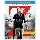 World War Z (Blu-ray/DVD, 2013, 2-Disc Set, Unrated; Includes Digital Copy)