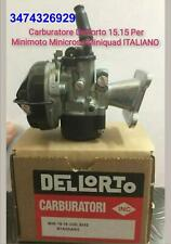 Carburatore Dell'orto SHA 15 Racing Minimoto Minicross Miniquad