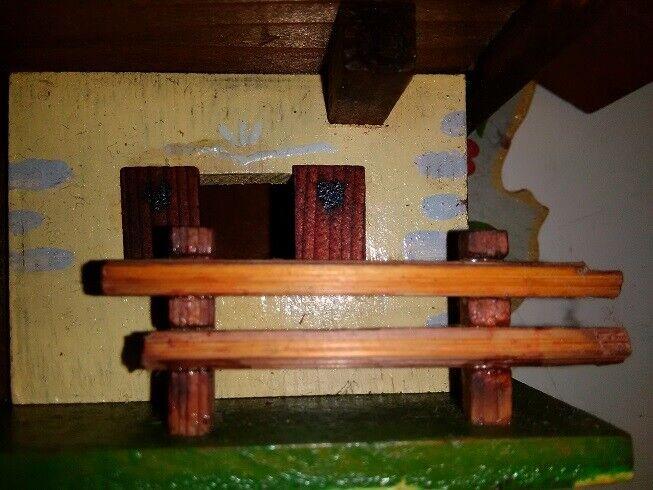 Casetta legno anni 60 artigianato trentino 6