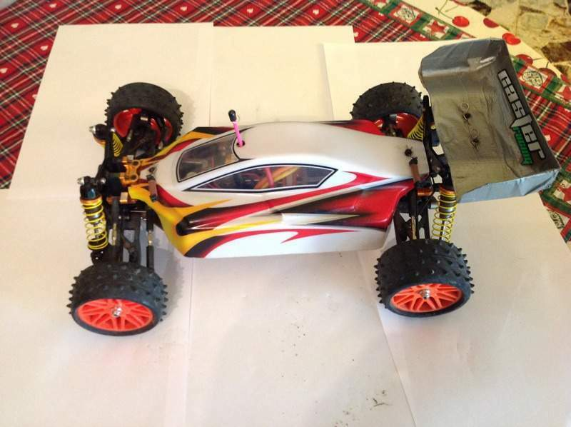 Buggy Off Road Caster SK 10 Pro + Radio + ricambi
