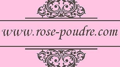 Accessoires de mode Rose Poudré