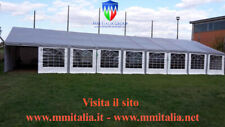 Tendoni Gazebo La Due20 8 x 12 x 2,2 mt. professionali