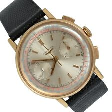 LONGINES Chronograph 30CH Flyback pink gold 18KT 1960s