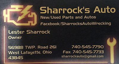 Sharrock's Auto Wrecking