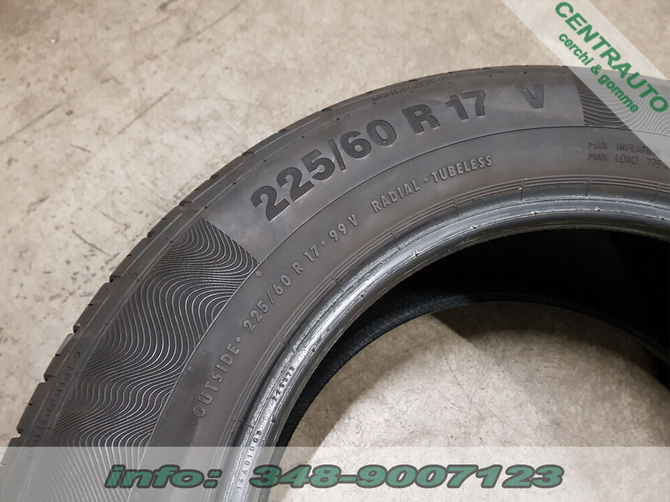 Gomme 225-60-17 99V Continental Estive Usate 5