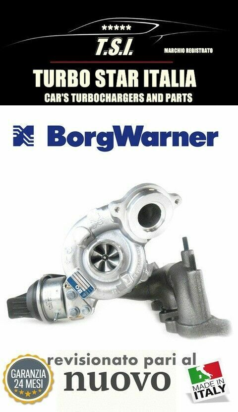Turbina turbocomp. audi a3 tt sea leon...