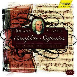 Komplette Symphonien von Bach Collegium Stutt,Rilling (2006)