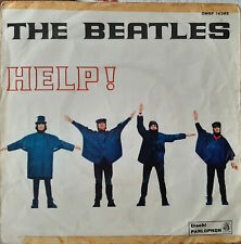 The beatles help! qmsp 16383 copertina - 7'' picture sleeve g+