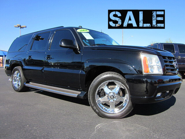 2004 cadillac escalade esv all wheel drive suv used custom exhaust 20 wheels ebay. Black Bedroom Furniture Sets. Home Design Ideas