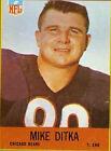 Mike Ditka Original Single Football Trading Cards