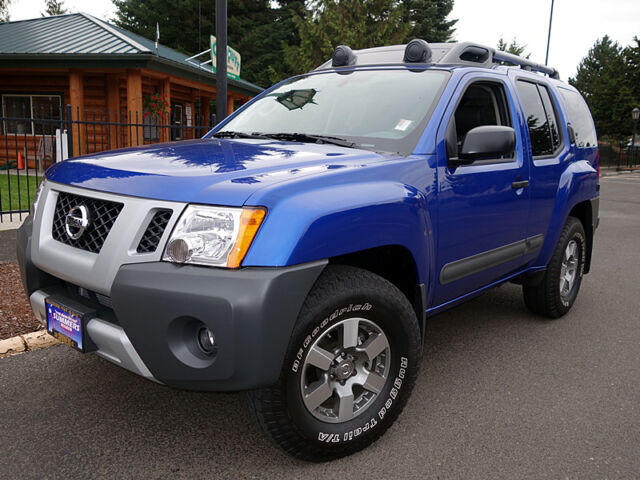 2013 nissan xterra 4x4 pro 4x metallic blue 4 0 v6 auto navi leather 319 miles used nissan. Black Bedroom Furniture Sets. Home Design Ideas