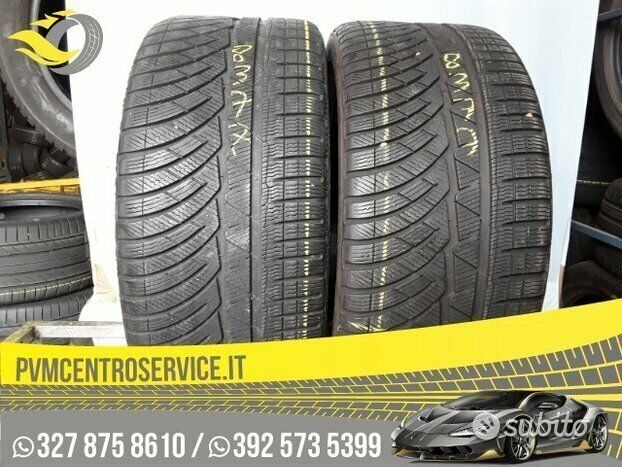 Gomme Usate 255 35 20 Michelin 8377