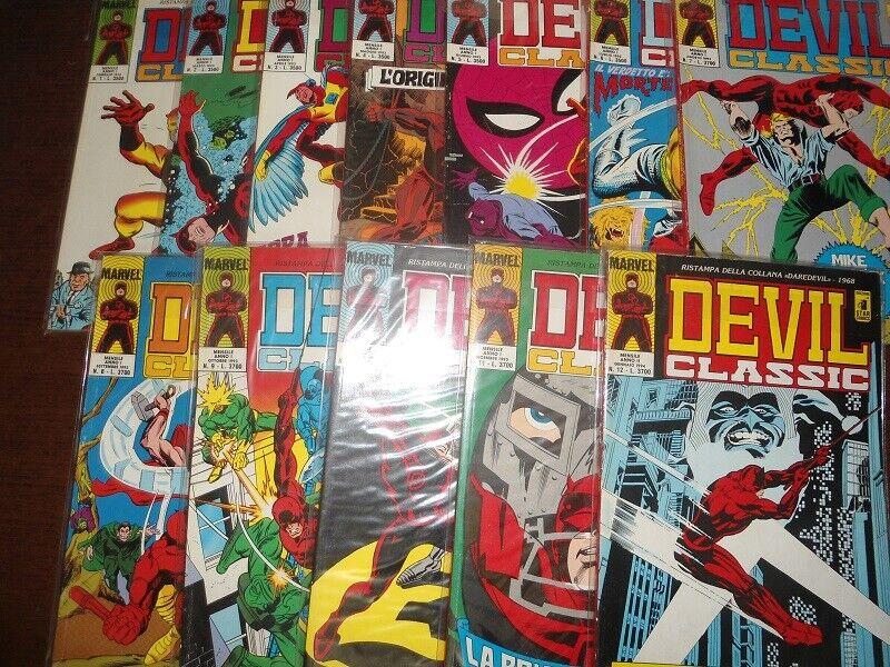 Fumetti devil classic completo ( star comics )