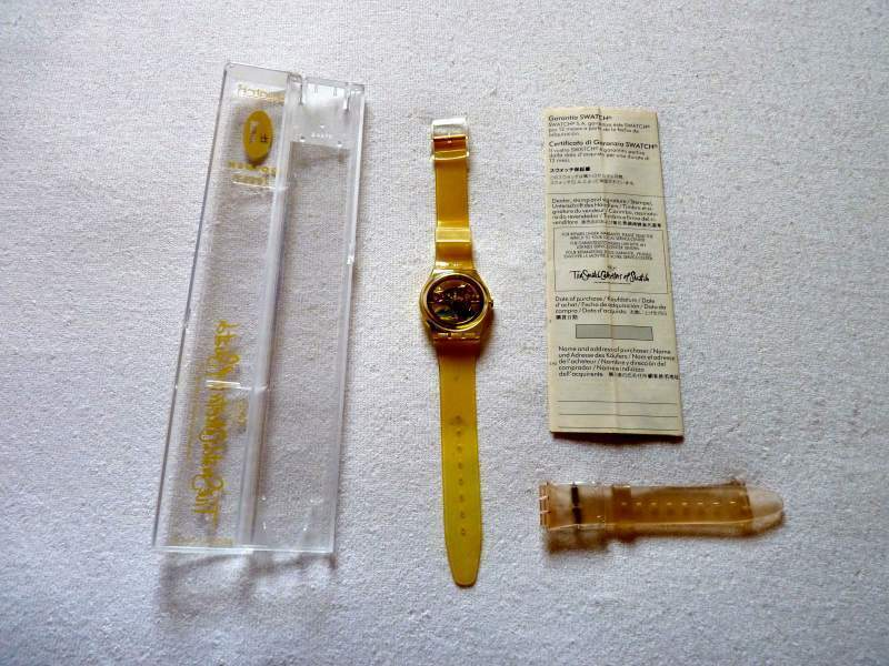 Swatch Golden Jelly