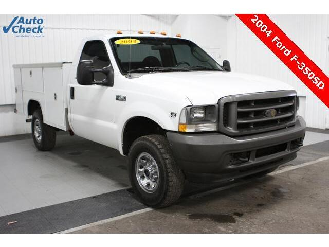 Used 04 Ford F350sd 4x4 Regular Cab V10 Harbor Utility