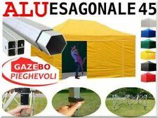 Gazebo 6x3 giallo Alluminio chiosco stand mercato