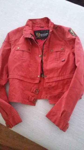 giacca belstaff donna color rosso